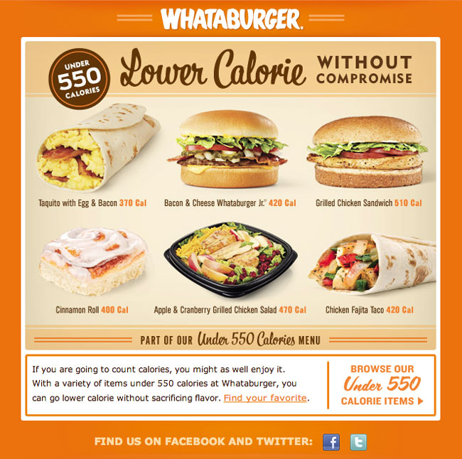 whataburger menu calories and nutrition