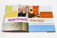 Apartment Therapy, book design