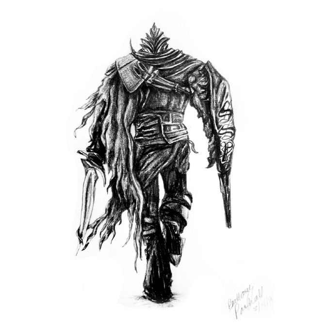 Dark Souls Drawing For Greg Bparsh