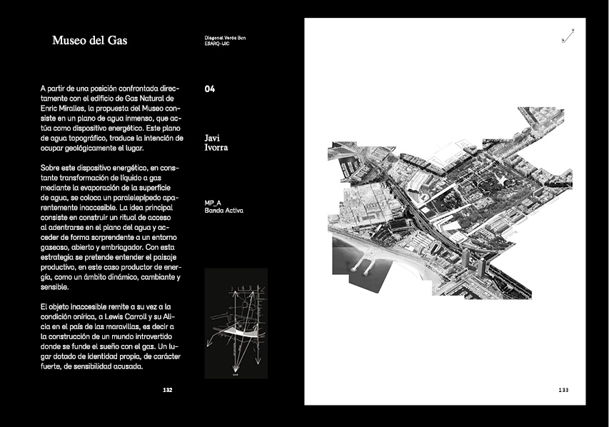 Diagonal verda the book albertgarrigo for Grado superior arquitectura