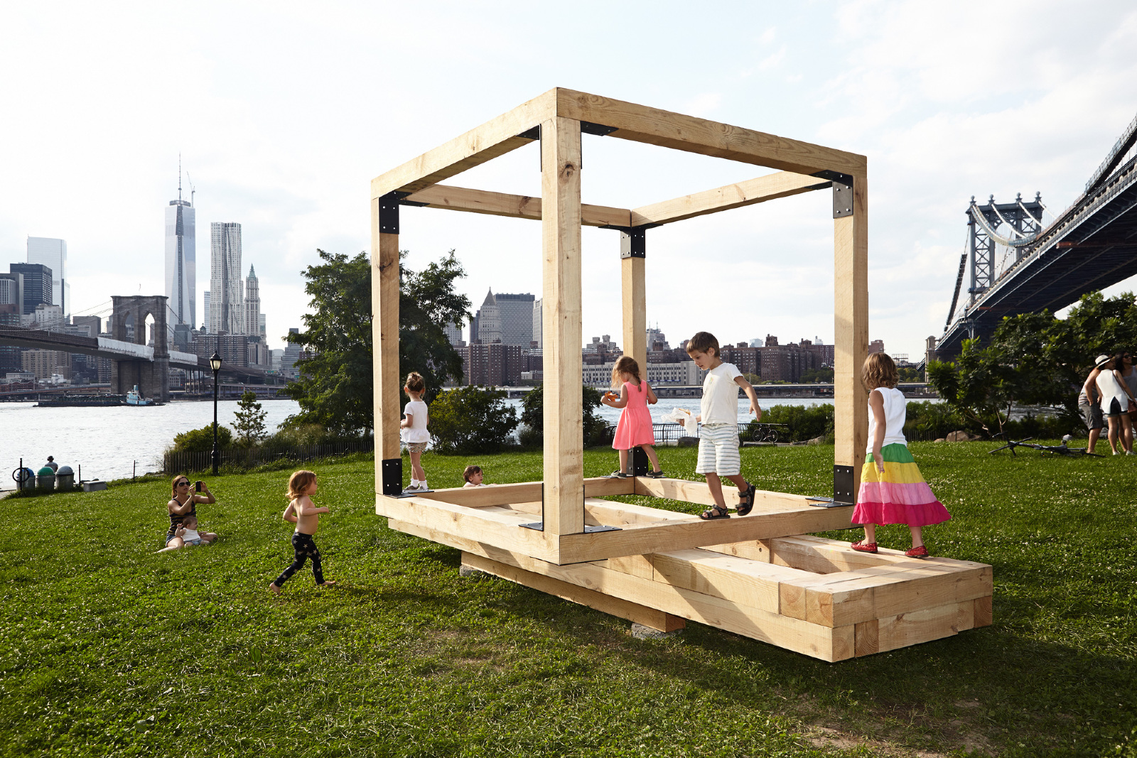 Untitled Benches Tables Cube For Children 2013